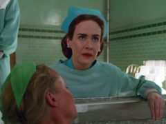 Sarah Paulson in Ratched (Netflix/PA)