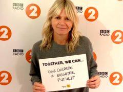 Zoe Ball (BBC Children In Need/PA)