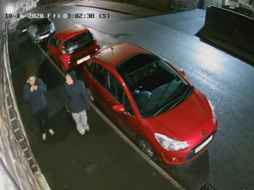 Two people are being sought by police (Lancashire Police/PA)
