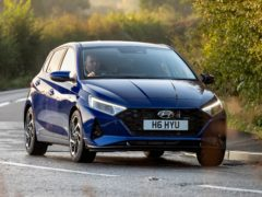 There's more than a hint of sportiness about the way the i20 drives