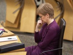 Nicola Sturgeon spoke of her 'regret' over outbreaks of Covid-19 in care homes (Jane Barlow/PA)