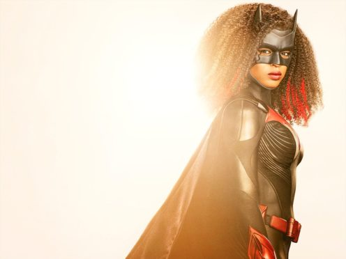 Batwoman fans have been given a first look at Javicia Leslie in the role after she replaced Ruby Rose as the crimefighting superhero (Nino Munoz/The CW)
