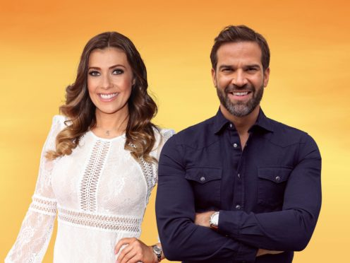 Kym Marsh and Gethin Jones (BBC/PA)