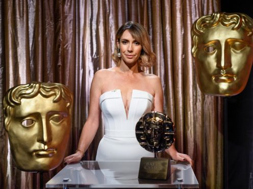 The One Show's Alex Jones presenting the 2020 BAFTA Cymru Awards (BAFTA/Polly Thomas)