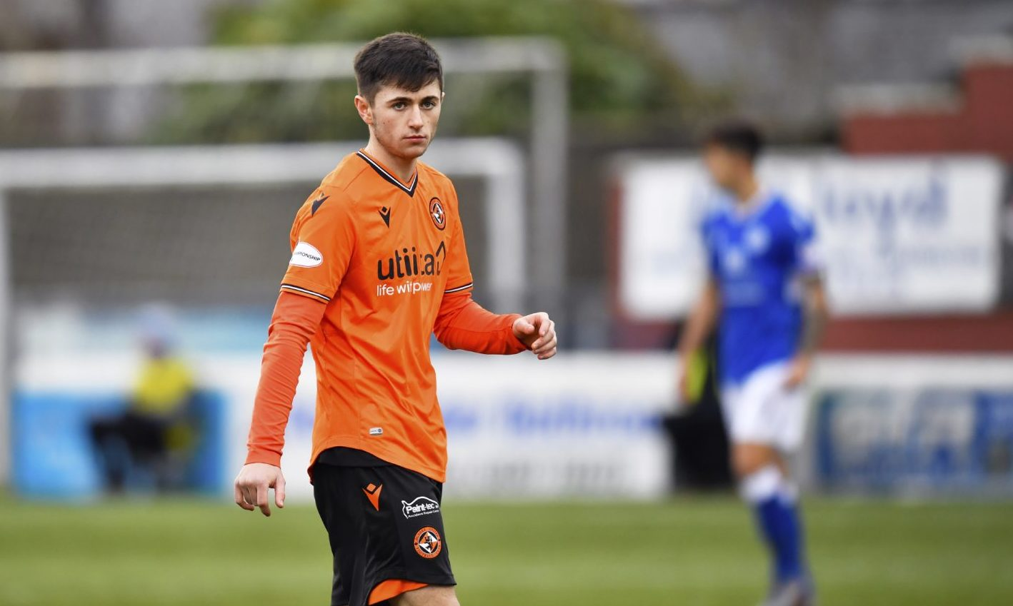 Dundee United midfielder Declan Glass out for the season after undergoing knee surgery - The Courier