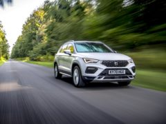 The Ateca is arguably one of the best-handling SUVs on sale today