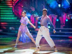 Katya Jones and Nicola Adams (BBC/PA)