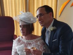 Margarida and Paulo at their wedding (Marie Curie)