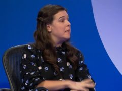A screengrab from Question Time showing comedian Rosie Jones speaking on disability (BBC/Question Time)