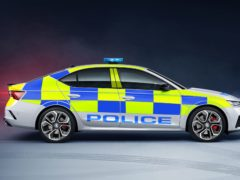 The Octavia vRS has been specially adapted for use by police forces