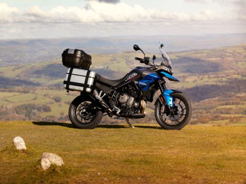 The Tiger Sport is the new entry-level touring bike from Triumph