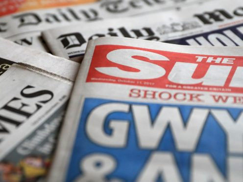 What the papers say – November 21 (PA)