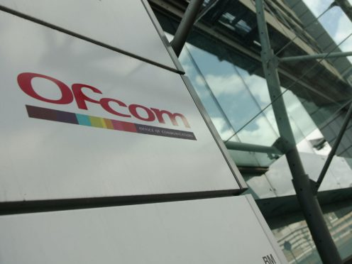 The offices of Ofcom (Yui Mok/PA)