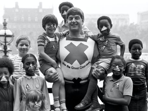 Actor Dave Prowse in his role as the Green Cross Code Man (PA)
