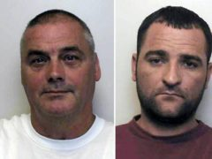 David Harrison (left) and Darryl Dickens who were jailed for their part in the shooting of Richard Deakin (Staffordshire Police/PA)