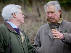 The Prince of Wales, with presenter John Craven, in a previous episode of Countryfile (Andrew Hayes-Watkins/BBC/PA)
