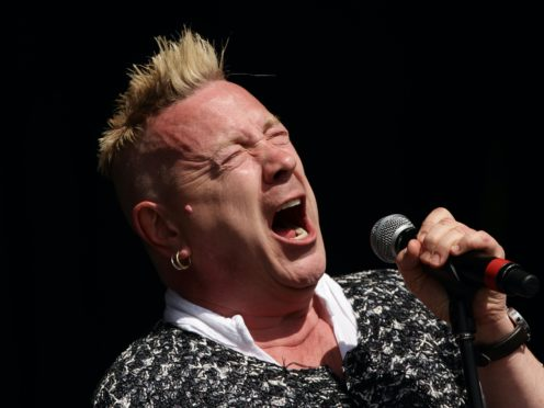 John Lydon has been expressing his support for Donald Trump (Yui Mok/PA)