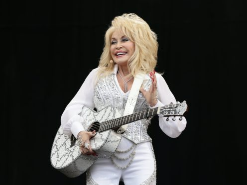 Dolly Parton's name is mentioned in the preliminary report for the Moderna vaccine (Yui Mok/PA)