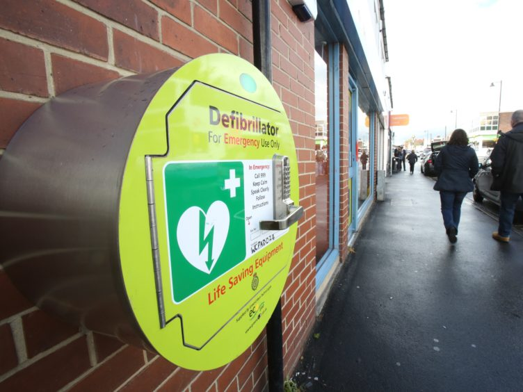 A petition was launched by an Inverclyde-based campaigner to increase the number of defibrillator units (Chris Radburn/PA)