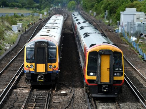 Free train travel for people fleeing abusive relationships has been extended ahead of an expected surge in demand (Andrew Matthews/PA)