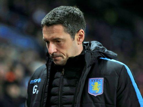 Remi Garde lasted 20 matches at Aston Villa (Nick Potts/PA)