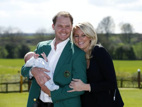 Danny Willett won the Masters in 2016, just days after the birth of his son Zachariah (Peter Byrne/PA)