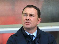 Derek Adams did not think much of Salford (Nigel French/PA)