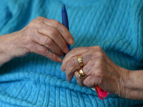 Care home visits will be allowed under new lockdown restrictions in England (Joe Giddens/PA)