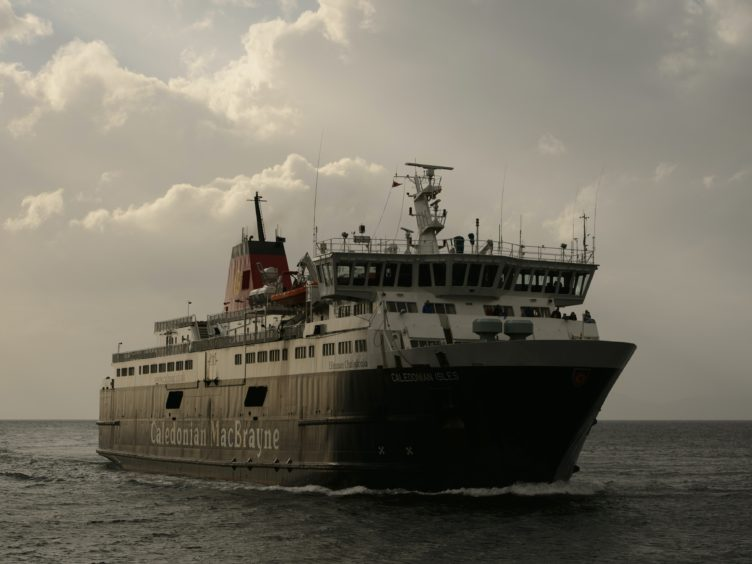 The RMT described the pay offer made to CalMac staff as 'derisory' (John Linton/PA)