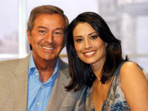 Des O'Connor and Melanie Sykes (ITV/PA)