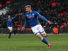 Stephen Humphrys earned Rochdale a point with a late goal (Nick Potts/PA)