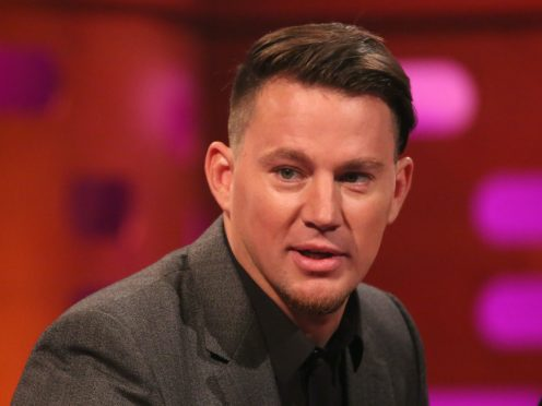 Channing Tatum recently wrapped filming (Isabel Infantes/PA)