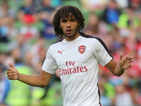 Mohamed Elneny helped Arsenal claim a rare league victory at Manchester United (Niall Carson/PA)