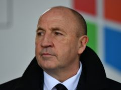 John Coleman was far from happy with Accrington's display (Anthony Devlin/PA)