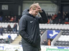 Robbie Neilson's side were dumped out of the cup (Jeff Holmes/PA)