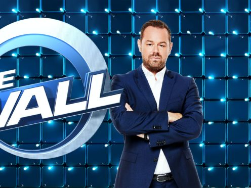 Danny Dyer on The Wall (Simon Turtle/BBC/PA)