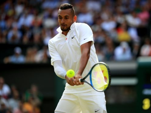 Australian tennis player Nick Kyrgios says depression left him in a 'lonely, dark place' (Adam Davy/PA)