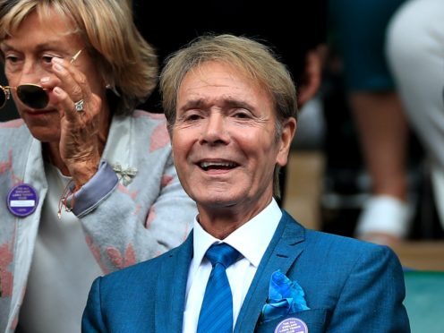 Sir Cliff Richard is one of a host of stars performing (Mike Egerton/PA)