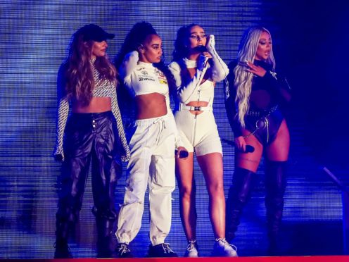 Little Mix perform at Fusion Festival in Sefton Park, Liverpool. (Peter Byrne/PA)