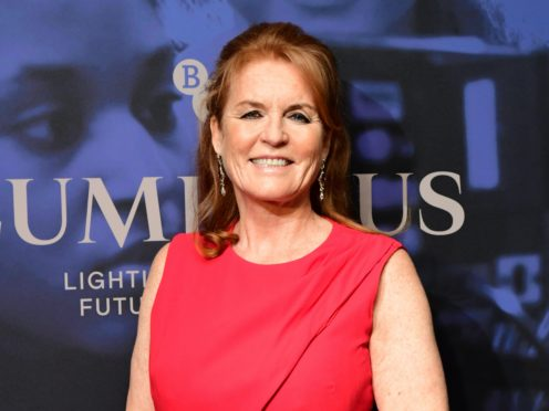 Sarah Ferguson, the Duchess of York (PA)