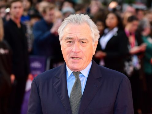 Robert De Niro reopened his feud with Donald Trump and said the president has a 'screw loose' following his election loss (Ian West/PA)