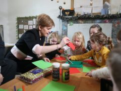 More than half of all children who receive funded childcare get the full allocation of 1,140 hours (Andrew Milligan/PA)