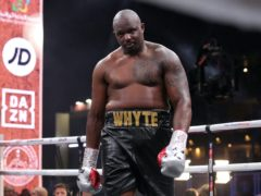 Dillian Whyte's rematch against Alexander Povetkin is off (Nick Potts/PA)