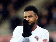 Lys Mousset has not played at all yet this season but he could be back in the Sheffield United squad on Sunday (Joe Giddens/PA)