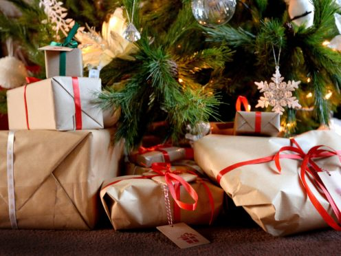 Scientists have recommended people send Christmas gifts earlier this year (Nick Ansell/PA)