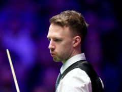Judd Trump made the clearance during his second-round match in Milton Keynes (John Walton/PA)