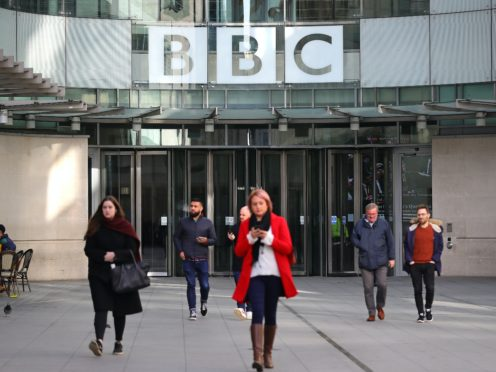 BBC Broadcasting House in London (Aaron Chown/PA)