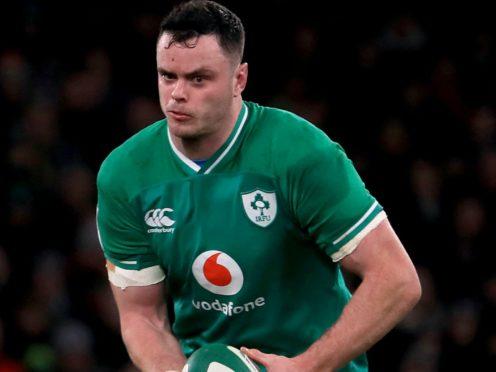 Ireland captain James Ryan is preparing to face Georgia (Donall Farmer/PA)