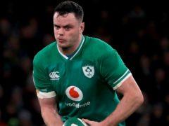 James Ryan will take the Ireland captaincy from injured skipper Johnny Sexton (Donall Farmer/PA)