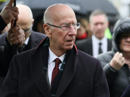Sir Bobby Charlton has been diagnosed with dementia (Brian Lawless/PA)